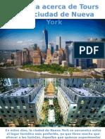 Aprenda Acerca de Tours en La Ciudad de Nueva York