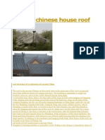 Ancient Chinese House Roof