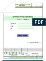 Earthing Resistance Calculations is-3043