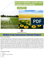 Global Crop Insurance Market