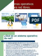 Sistemas Operativos Para Red Libres.