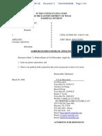 Zapmedia Services, Inc. v. Apple, Inc. - Document No. 11