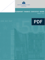 12 Government Finance Statistics Guide ECB(2010)