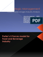 Food industry Analysis