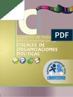 Cuaderno de Trabajo para Capacitación de Fiscales de Organizaciones Políticas, 2015 - TSE de Guatemala