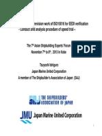 ISO 15016-2015 (Changes to 2002) Environment No 2 MrTsuyoshi Ishiguro