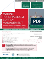 FLP2446HA101 Diploma in Marine Purchasing and Supply Management