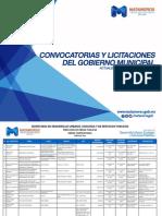 Convocatorias y Licitaciones del Gobierno Municipal de Matamoros Julio 2015