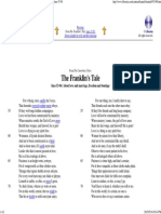 Ifmastery Come Geoffrey Chaucer Franklin's Tale, Lines 53-94