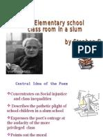 Elementary School Class Room -Stephen