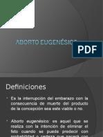 Aborto Eugenésico