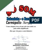 CONVERSOR SAIDA DE FIO PARA SAIDA RCA