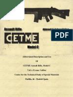 Cemte C Rifle Manual