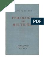 Capitúlo 1 - Psicologia Das Multidões