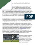 La bonne réputation pour les matchs de football Italie Allemagne V