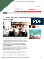 La Libertad - San Martín - Amazonas y Cajamarca Forman Mancomunidad _ LaRepublica