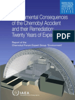 Environmental Consequences of the Chernobyl Accident and their Remediation