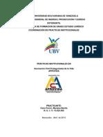 Informe de Pasantia UBV Definitivo de Cano