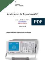 Analizador de Espectro ADE-2015