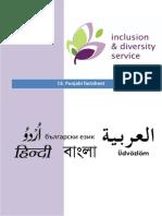 13. Punjabi Factsheet