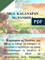 Mga Pandiwa - Kaganapan, Pokus at Aspekto