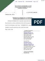 PA Advisors, LLC v. Google Inc. et al - Document No. 128