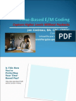 Time Based EM Medical Coding