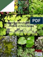 Common Plants of Nova Scotia