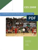 La Capacidad de Percepcion, Decision y Ejecucion en Baloncesto - Oriol García Bosch e Isaac Pérez Torné