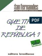 Que tipo de república - Florestan Fernandes.pdf