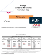 6th Grade Mathematics Curriculum Map