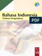 Bahasa Indonesia Wahana Pengetahuan (Buku Siswa)