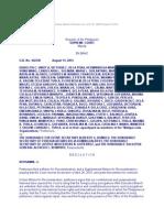 Isabelita Vinuya, Et Al. v. Executive Secretary Alberto G. Romulo, Et Al., En Banc G.R. No. 162230, August 13, 2014