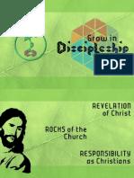 Grow In Discipleship 5 - Rocks & Revelation