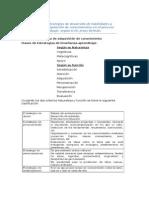 Clasificación de Estrategias de Desarrollo de Habilidades y Capacidades de Adquisición de Conocimientos en El Proceso Enseñanza