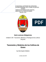 Unidad II Taxonomia Botanica y Fisiologia de Los Cultivos de Grano Agosto 2010