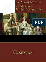 Grooming - The Dressing Table & Cosmetics