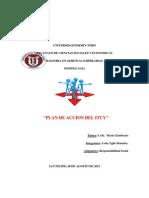 Plan de Accion Iuty orientado al RSE