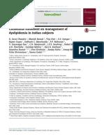 Dislipidemia en La India Excelente Articulo en Adultos (1)