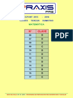 Claves Area b Sumativo III 2015-2016 Matemática