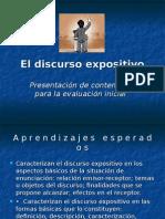 eldiscursoexpositivo-110316151801-phpapp02