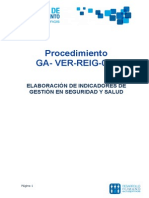 007- Proc - Indicadores de Gestion