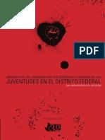 2015. Derechos Culturales de Las Juventudes en El DF