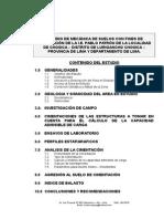 2.0 Estudio de Mecanica Suelos de La i.e. Pablo Patrón Chosica-lurigancho Chosica-lima-lima.