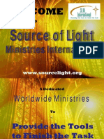 Source of Light Ministries - Outreach, PowerPoint