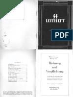 SS Leitheft - 09. Jahrgang - Heft 11 - November 1943