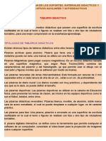 Tema 1:TECNOLOGIA EDUCATIVA DE LOS SOPORTES, MATERIALES DIDACTICOS Y MEDIOS EDUCATIVOS AUXILIARES Y AUTODIDACTICOS