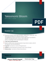 Taksonomi Bloom