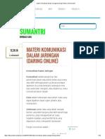 Materi Komunikasi Dalam Jaringan (Daring Online) _ Odi Sumantri