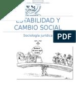 Estabilidad y Cambio Social